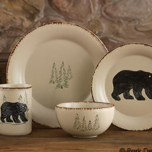 Rustic Retreat Dinnerware Set - 16pc Set