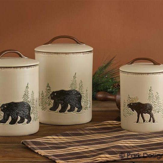 Rustic Retreat Canister Set