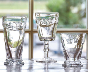 Star Beverage Glass - Set of 8