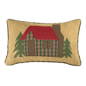 Cabin Pillow 12x20