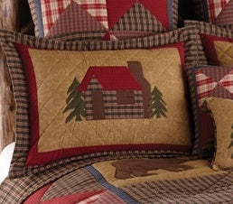 Cabin Bedding Pillow Shams (Choose Size)