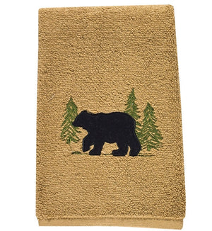 Black Bear Terry Towel by Park Designs - DL Country Barn
