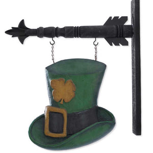 Leprechaun Hat Arrow Replacement Sign