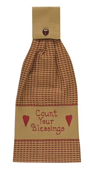 Count Your Blessings Hand Towel