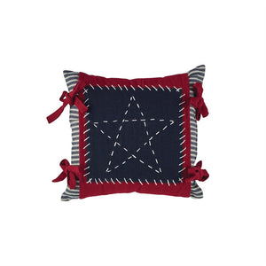 Star Stitched Pillow 10 inch