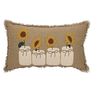 Sunflower Blooms 12x20 Decorative Pillow | Park Designs