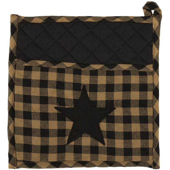 Black Star Potholder