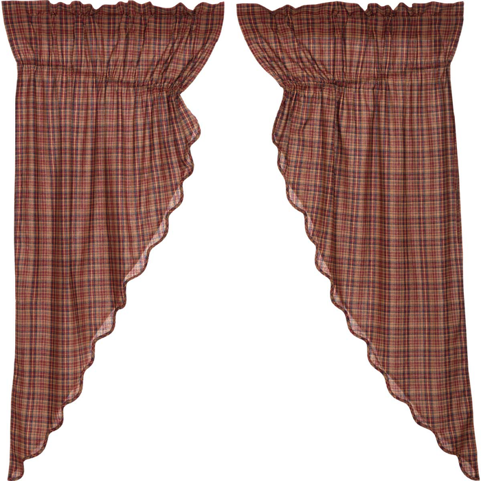 Parker Scalloped Prairie Curtain