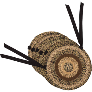 Kettle Grove Jute Chair Pad - Set of 6