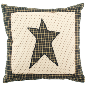 "Kettle Grove Star 16"" Pillow"