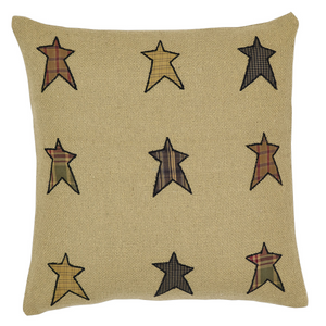 Stratton Applique Star Pillow 16 inch