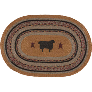 Heritage Farms Sheep Jute Placemat (Set of 6)