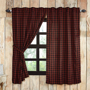 "Cumberland Short Panel Curtains 63""L"
