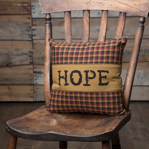"Heritage Farms ""Hope"" Pillow 12 inch"