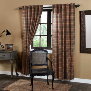 "Crosswoods Panel Curtains 84""L"