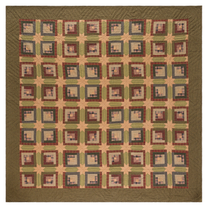 Tea Cabin Quilt (Choose Size)