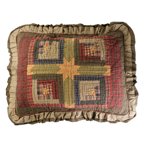 Tea Cabin Pillow Sham | VHC Brands