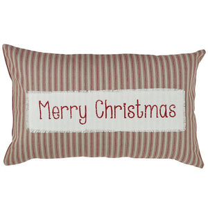 Merry Christmas Pillow 16 x 26 inch