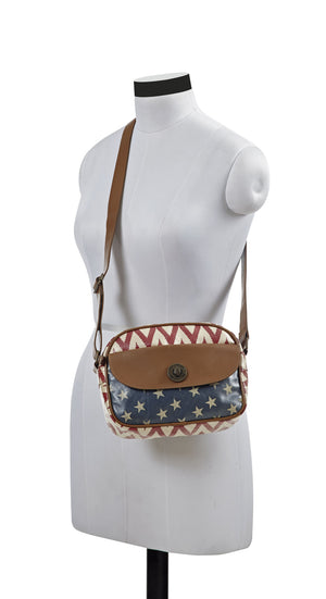 Antebellum Mini Messenger Crossbody Bag