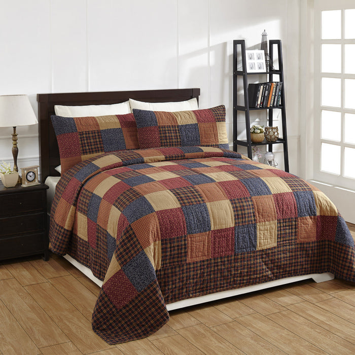 Old Glory Quilted Bedding Set - 3 pc. Queen