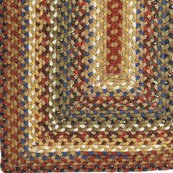 country primitive braided rugs jute   cotton   ultra durable   rag