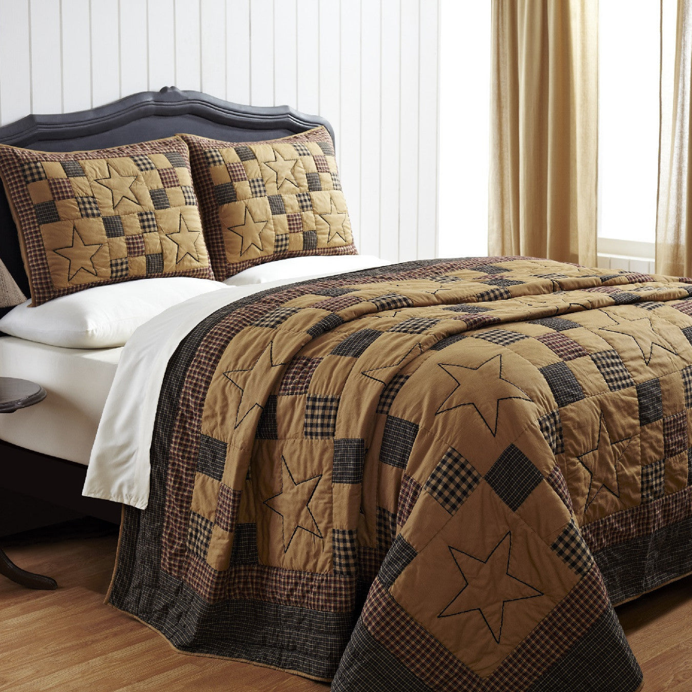 braden quilted bedding set  pc king – dl country barn - braden quilt set  king or queen