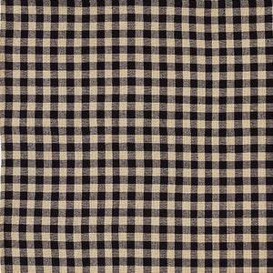 Burlap Black Check Tablecloth by VHC Brands - DL Country Barn