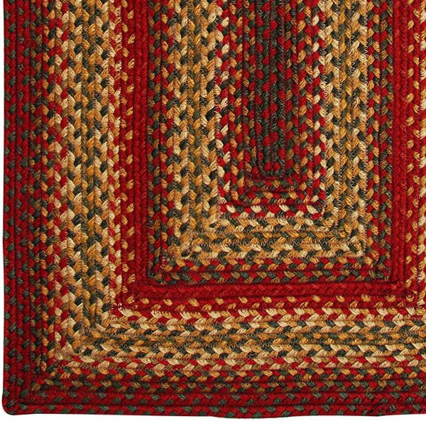 Cider Barn Jute Braided Rug Country Primitive Braided