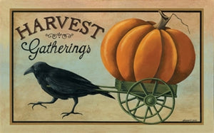Harvest Gatherings Floor Mat by Crossroads