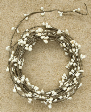 Pip Berry String Garland - Ivory White