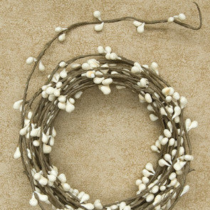 Pip Berry String Garland -Ivory Single Ply
