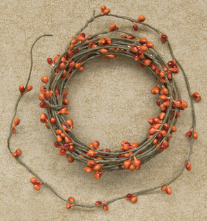 Pip Berry String Garland - Pumpkin