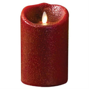 Luminara Candle - Country Red