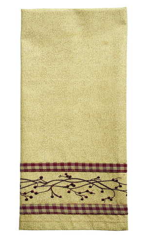 Checkerberry Dishtowel (Set of 2)