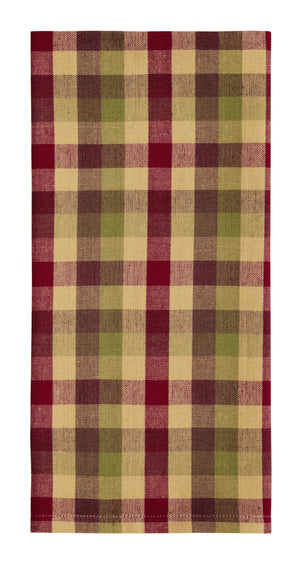 Apple Cider Plaid Dishtowel (Set of 2)