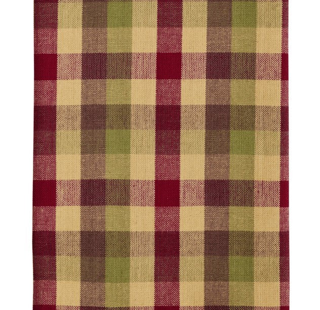 Apple Cider Plaid Napkin (Set of 6)