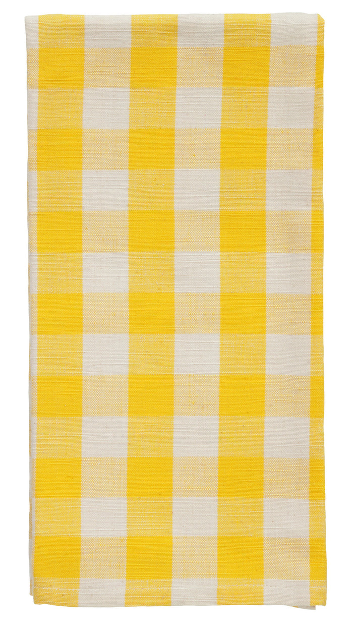 Picnic Yellow Dishtowel (Set of 2)