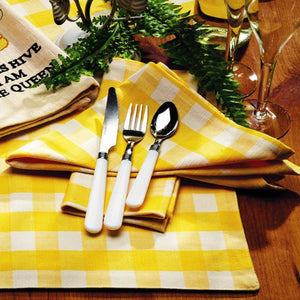 Picnic Yellow Napkin (Set of 6)