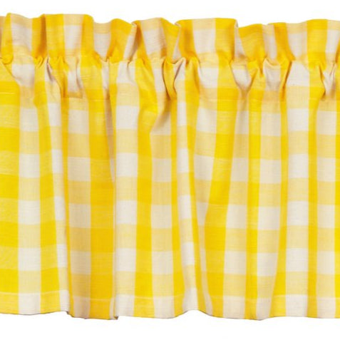 Picnic Yellow Valance