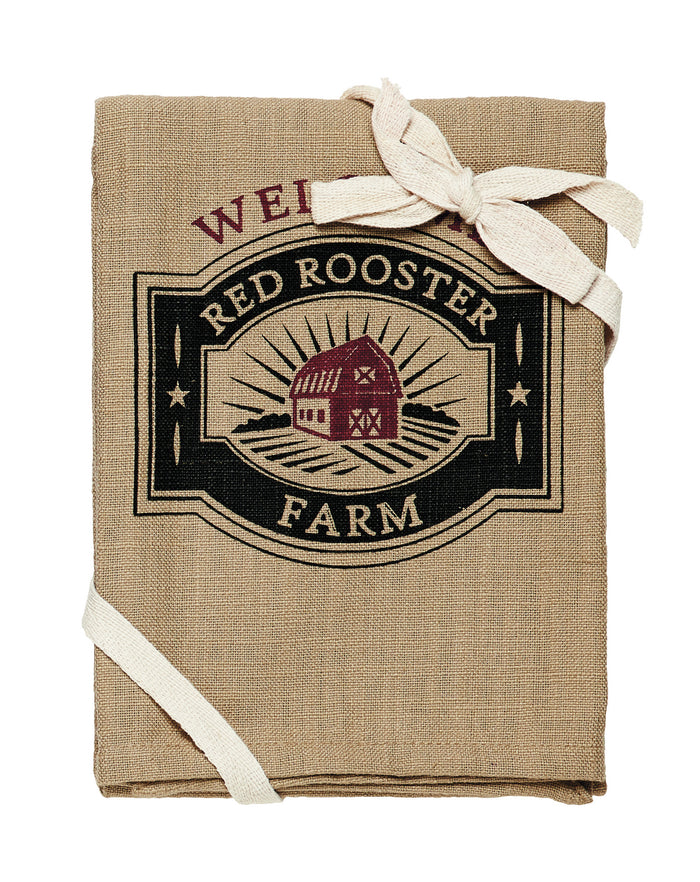 Red Rooster Dishtowel (Set of 3)