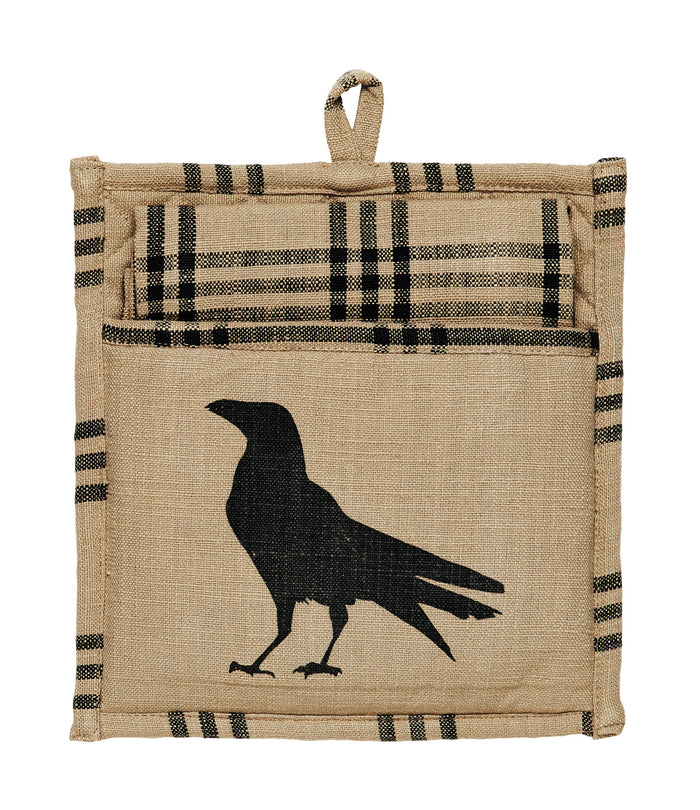 Olde Crow Potholder Gift Set