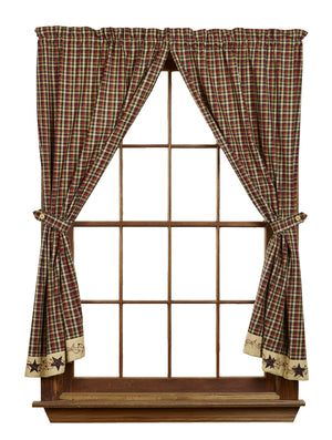 "Tangle Berries Short Panel Curtain 63""L"