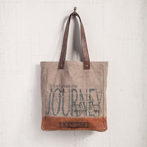 All About The Journey Tote Bag - Mona B