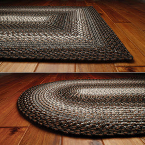 Midnight Moon Ultra Durable Braided Rug