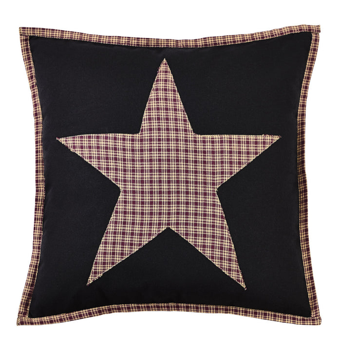 Plum Creek Fabric Star Pillow Cover - 16 inch