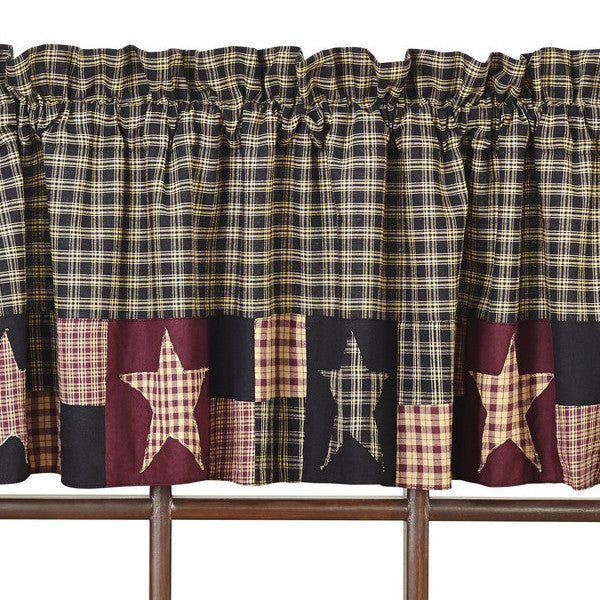 Country farmhouse curtains country kitchen curtains for Country farmhouse window treatments