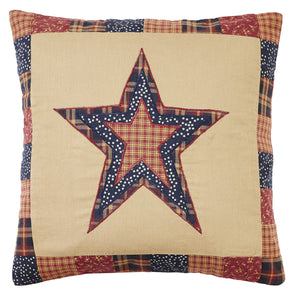 Old Glory Star Pillow Cover - 16 inch