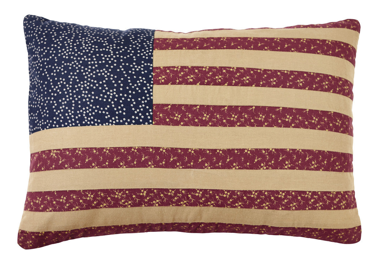 2d5a7cdfc0fd Old Glory Flag Pillow Cover - 13x19 inch – DL Country Barn