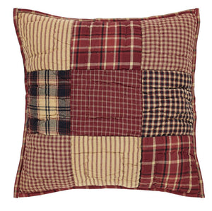 Rutherford Quilted Pillow Cover - 16 inch