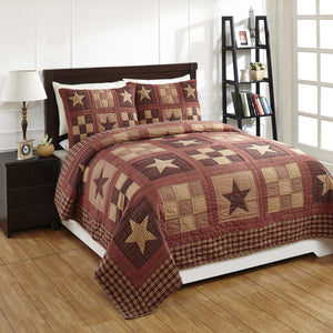 Bradford Star Quilted Bedding Set - 3pc. Queen
